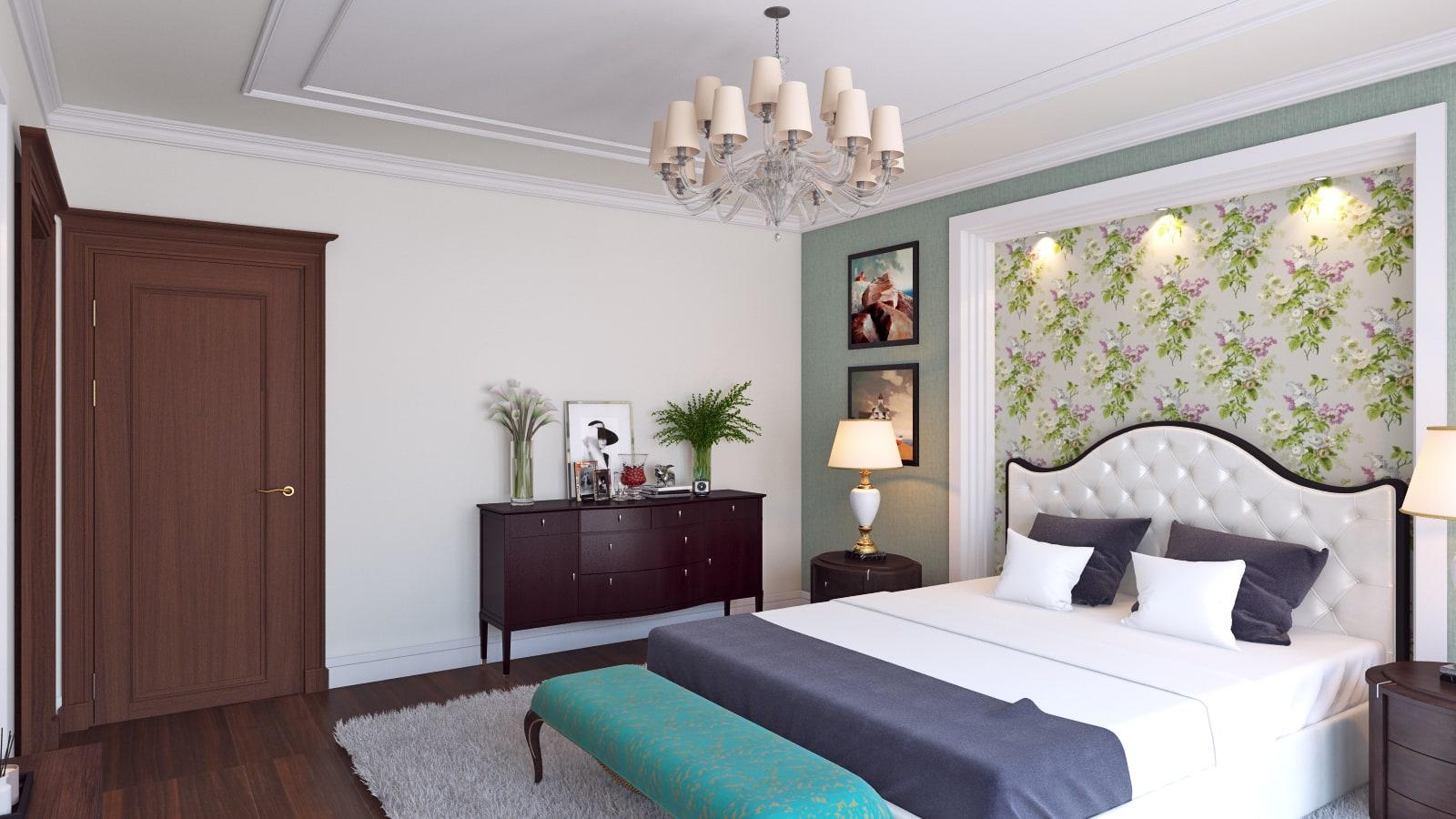 Sypialnia W Stylu Angielskim Trendy Projekty Wnętrz